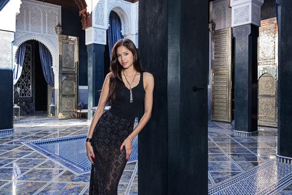 Fashion shoot at the Royal Mansour
