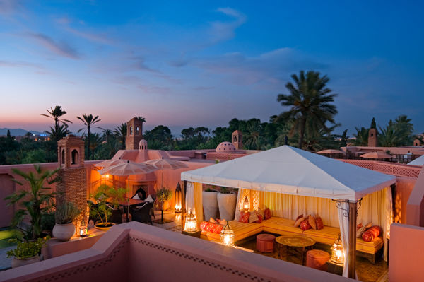 Royal Mansour Roof Terrace