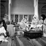 Women in a riad
