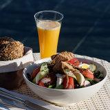 Poolside snack, Fairmont Royal Palm