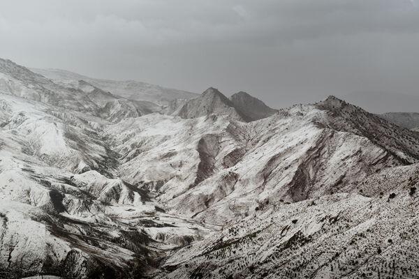 High Atlas in winter