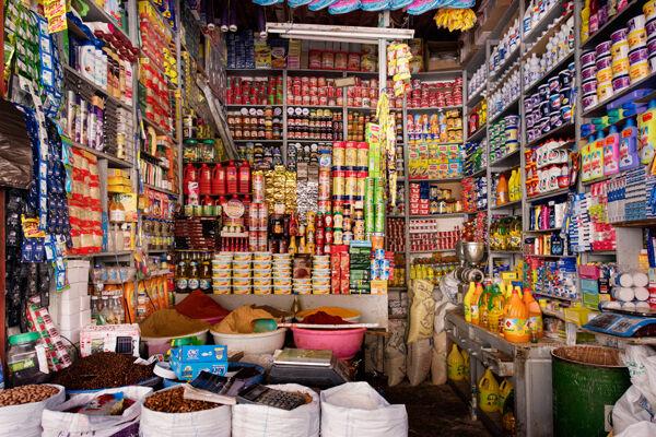 Shop interior Fes
