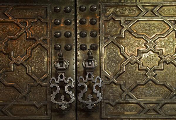 Brass Doors Marrakech