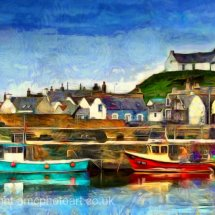 Findochty Harbour, Moray