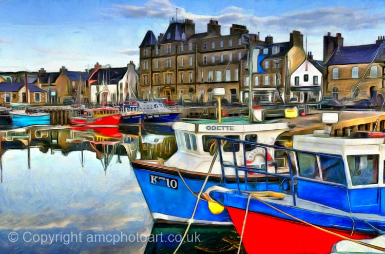 Kirkwall Harbour, Orkney