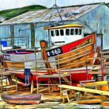 Mallaig Boatyard, West Highlands