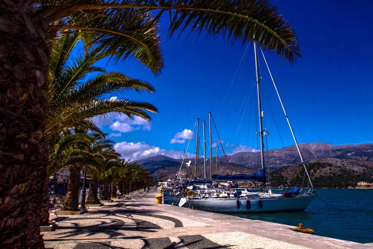 argostili harbour