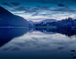 buttermere at night