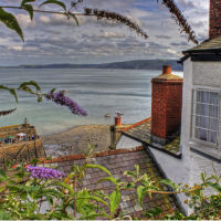 view from clovelly