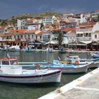 pythagorio boats