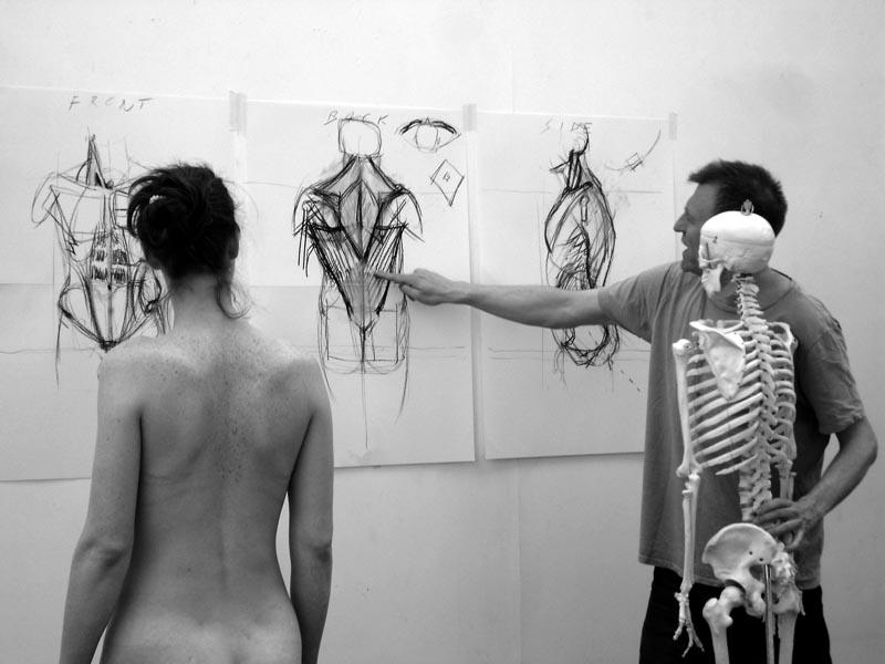 Alan Mcgowan Artist Anatomy For Artists Workshop In Edinburgh
