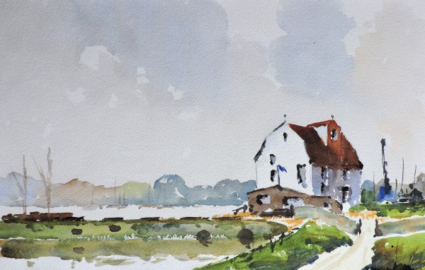 Tide Mill at Woodbridge Essex