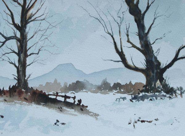 Dumgoyne in Winter