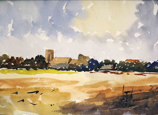 Upton from Fishley, Norfolk Broads