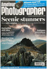 AMATEUR PHOTOGRAPHER Cover, Sept 2018