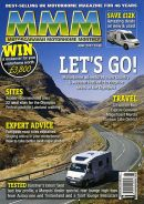 MOTORHOME MOTORCARAVAN MONTHLY or MMM MAGAZINE COVER