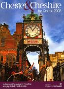 GROUPS GUIDE BROCHURE COVER Cheshire & Warrington Tourist Board