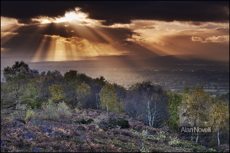 Bickerton Hill Cheshire Landscape