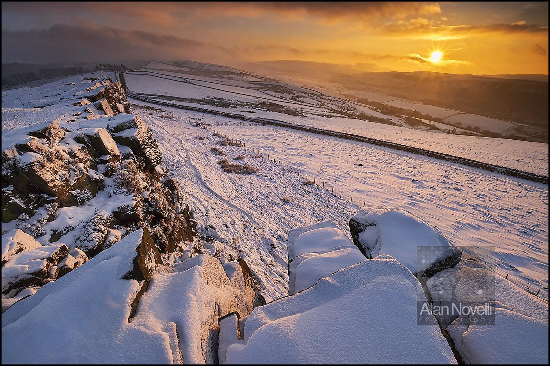 Windgather Rocks in winter