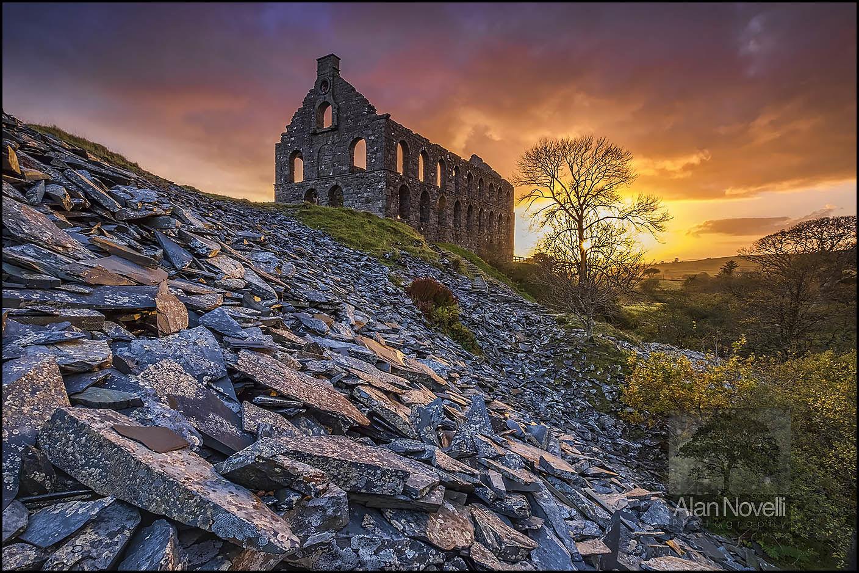 Slate Mill Sunset