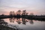 Sunset Along the Wey