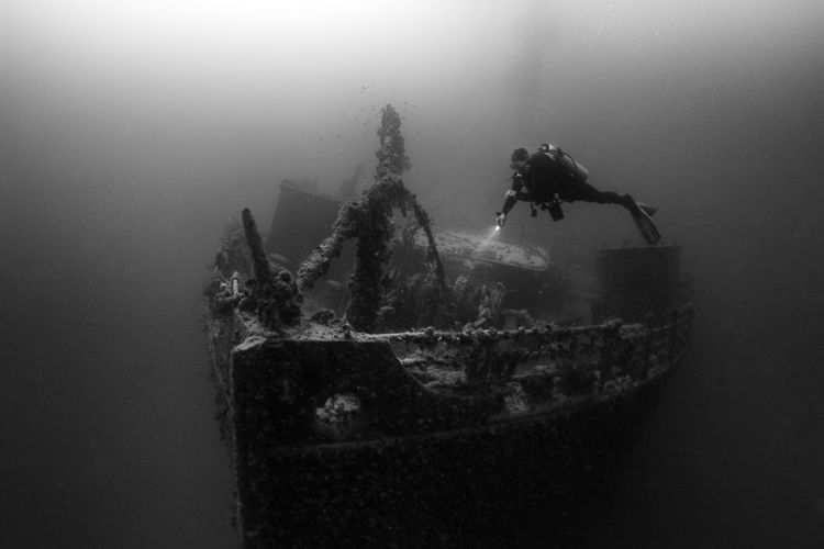 0750-Wreck of the Rosalie Müller, Red Sea