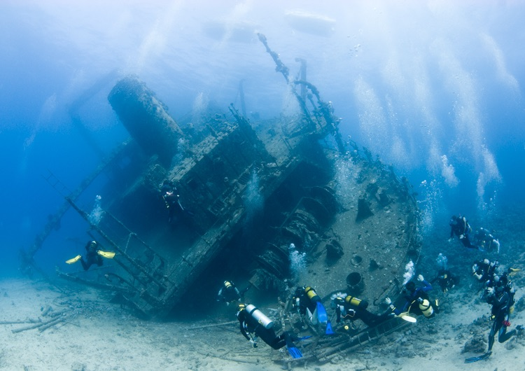 Wreck of the Giannis D, Red Sea