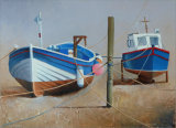 Boats in Staithes Beck 5