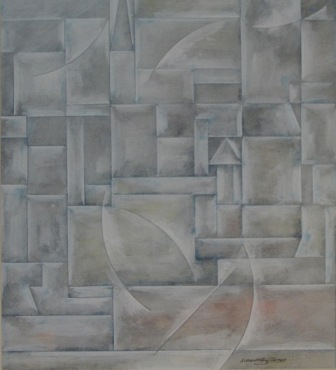 Fishing Village, Grisaille