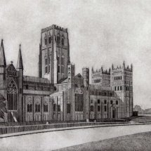 Durham Cathedral (etching)