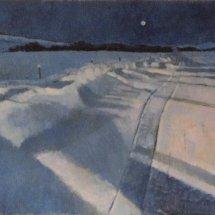 Snowdrifts on Moorsholm Lane (sold)