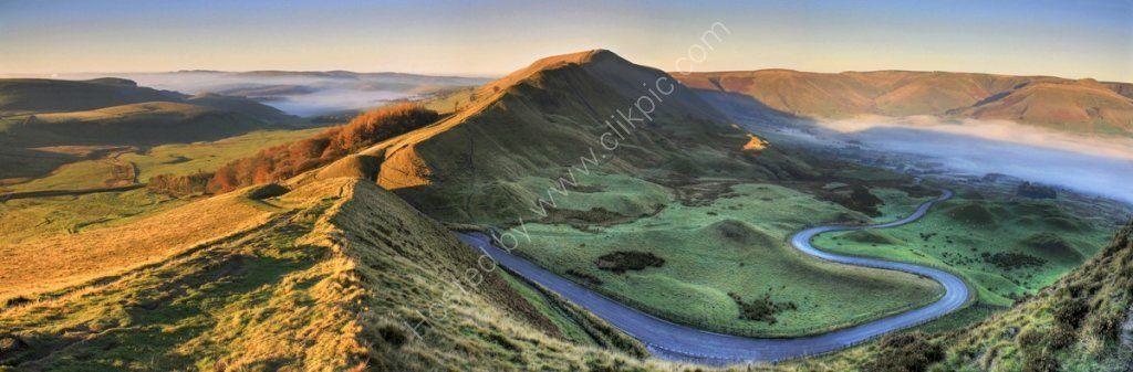 peak district photo mam tor rushup edge