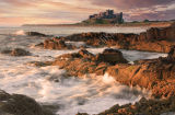 bamburgh castle morning