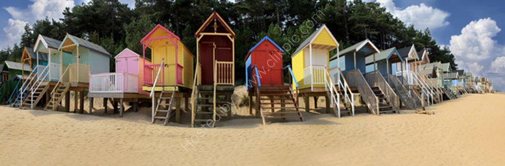 beach huts wells norfolk