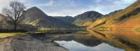 lake district photo Buttermere reflections