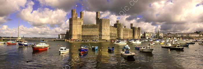 caernarfon castle harbour