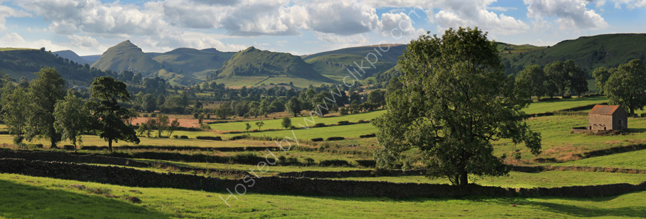 peak district photo:Chrome hill from crowdecote
