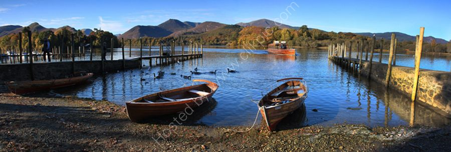 lake district photo derwentwater boats