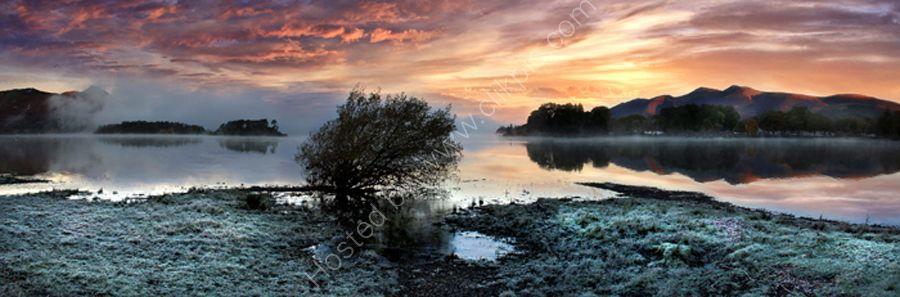 lake district photo derwentwater dawn