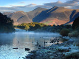 lake district photo derwentwater skidaw