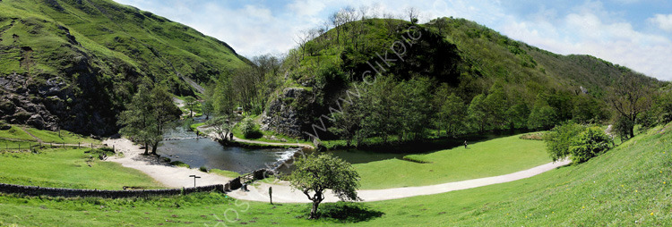 peak district photos:Dovedale stepping stones