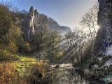 peak district photo Dovedale Pickering Tor