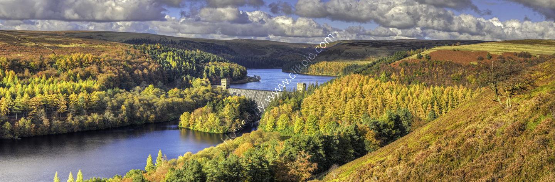 Peak District Photo Howden Dam, Derwent Valley