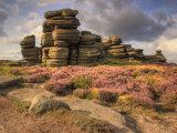 peak district photo hurkling stones derwent edge