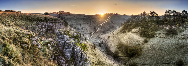 Peak District Photo Lathkilldale Sunrise