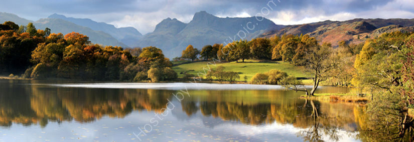 lake district photo langdales from loughrigg