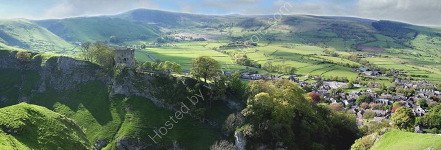 peak district photo:Peveril castle Castleton