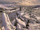 peak district photo ramshaw rocks winter