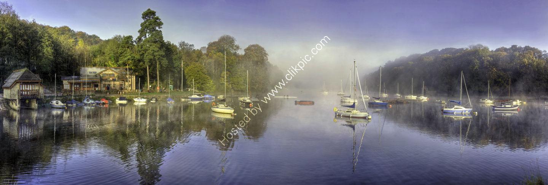 Rudyard lake Misty morning
