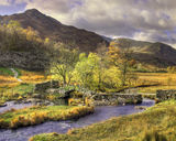 lake district photo slaters bridge autumn